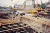 Potsdamer Platz building site — Stock Photo