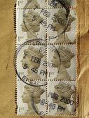 UK stamps — ストック写真