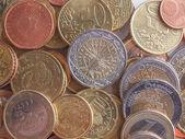 Euro-münzen — Stockfoto