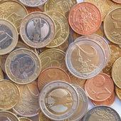 Euro mince — Stock fotografie