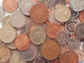Monedas libra — Foto de Stock