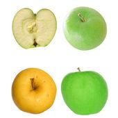 Apple isolerade — Stockfoto