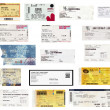Concert tickets — Stock Photo #39853857