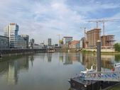 Medienhafen Duesseldorf — Stock Photo