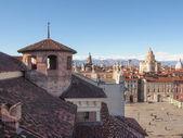 Piazza Castello Turin — Stok fotoğraf