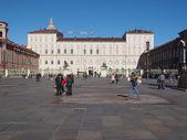 Piazza castello turin — Stockfoto