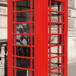 London telephone box — Stock Photo #40749867