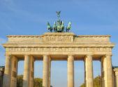 勃兰登堡门柏林 — 图库照片
