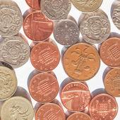 British pound coin — Stock Photo