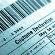 Customs declaration — Stock Photo #41188091