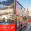Red bus in london — Stock Photo #41371883