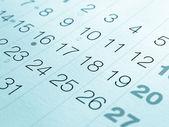 Calendar — Stock Photo