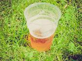 レトロな外観のビール — ストック写真
