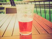 Retro look Beer — Stock Photo