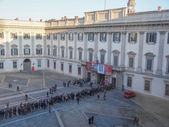 Palazzo Reale in Milan — Stock Photo