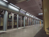 Turin Metro station — Stock Photo