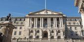 Bank van Engeland — Stockfoto