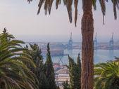Harbour Genoa Italy — Stock Photo