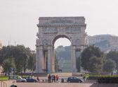 Arco della Vittoria Genoa — Stock Photo