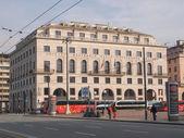 Palazzo INPS in Genoa — Stock Photo