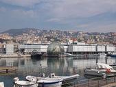 Porto vecchio Genua Włochy — Zdjęcie stockowe