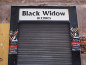 Black Widow records — Stock Photo