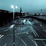 Crossroads at night — Stock Photo #43725795