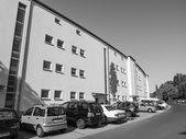 Roemerstadt siedlung blanco y negro — Foto de Stock
