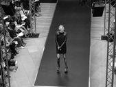 Black and white Fashion Show — Stock Photo