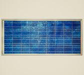 Retro look Solar cell panel — Stock Photo