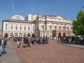 Театр Ла Скала Милан — Стоковое фото