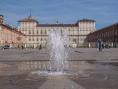 Piazza castello Torino — Stok fotoğraf