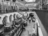 Black and white Covent Garden London — Stock Photo
