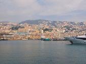 Porto vecchio eski liman cenova — Stok fotoğraf
