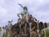 Neptunbrunnen fountain in Berlin — Stock Photo