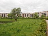Hufeisen Siedlung in Berlin — Stock Photo