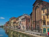 Naviglio Grande Milan — Stock Photo