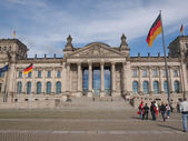 Reichstag in Berlin — Stock Photo