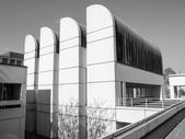 Black and white Bauhaus Archive in Berlin — Stock Photo