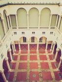 Retro look Doge Palace in Genoa — Stok fotoğraf