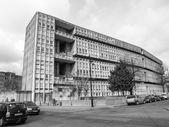 黒と白のロビン ・ フッド ガーデンズ ロンドン — ストック写真