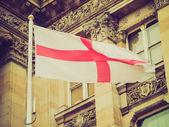 Flaga anglii w stylu retro — Zdjęcie stockowe