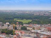 Leipzig aerial view — Stock Photo