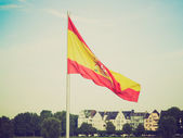 Retro look Flag of Spain — Stock Photo