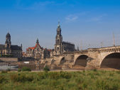 Dresden Hofkirche — Stock Photo