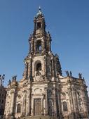 Hofkirche drážďany — Stock fotografie