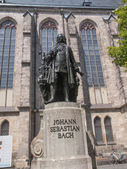 Neues Bach Denkmal — Stock Photo