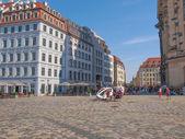 Neumarkt Dresden — Stock Photo