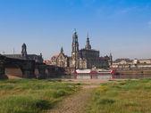 Хофкирхе Дрездена — Стоковое фото
