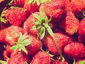 Retro look Strawberries — Stok fotoğraf